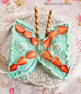 tort motyl cake butterfly
