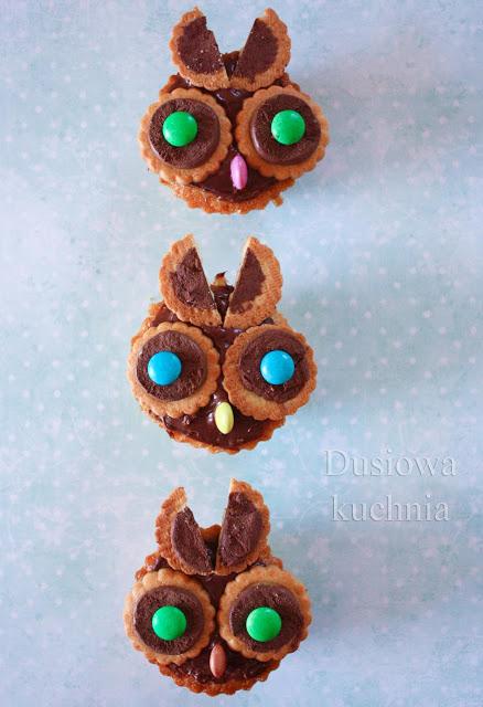 muffiny sowy muffinki sowy, sówki muffiny, babeczki sowy, muffins owls