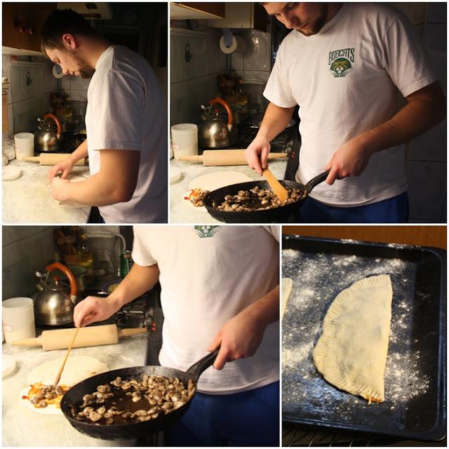 jak zrobić calzone