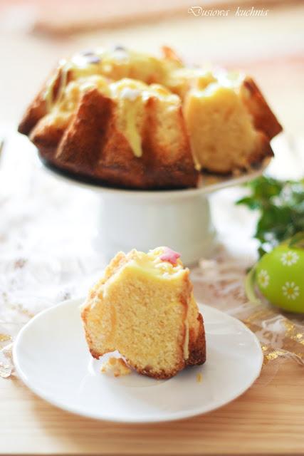 babka cytrynowa, przepis na babkę cytrynową, baba cytrynowa, wielkanocne ciasto, przepisy na babki