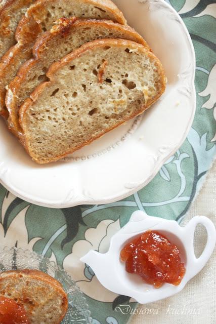 tosty francuskie, chleb w jaju, różane tosty francuskie, różany chleb w jaju