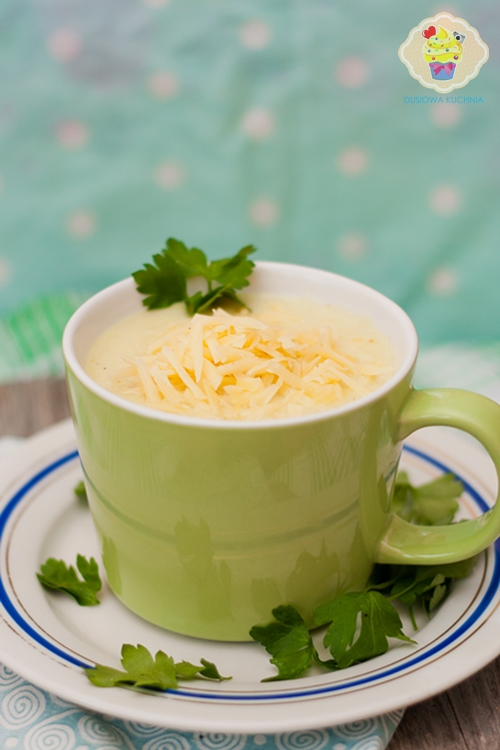 zupa krem z selera, prosty krem z selera, zupa selerowa, krem selerowy