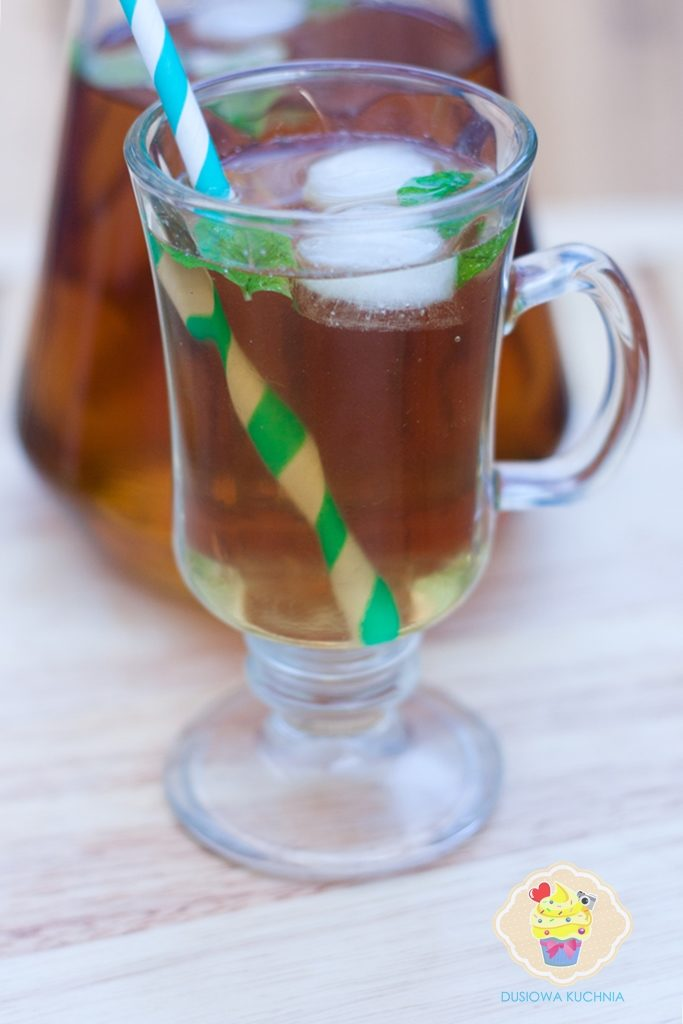 mrożona miętowa herbata