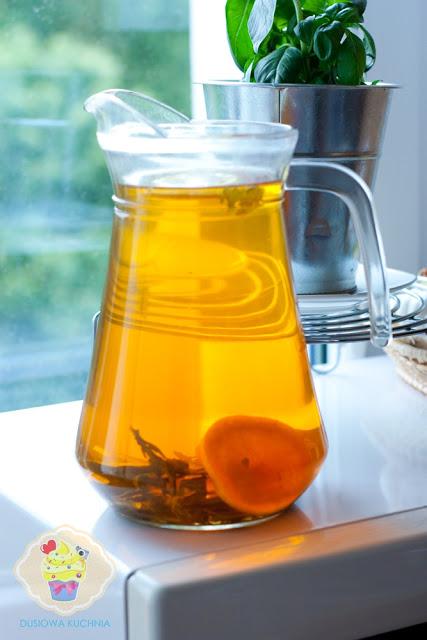 herbata mrożona, stewia herbata, napój na stewii, stewia