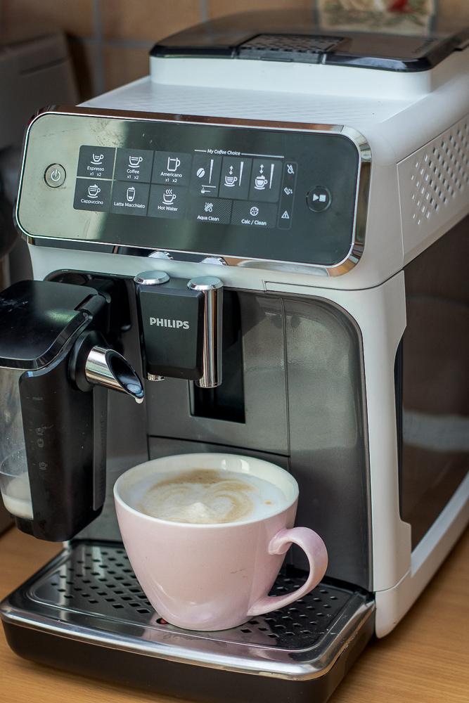 philips latte go recenzja