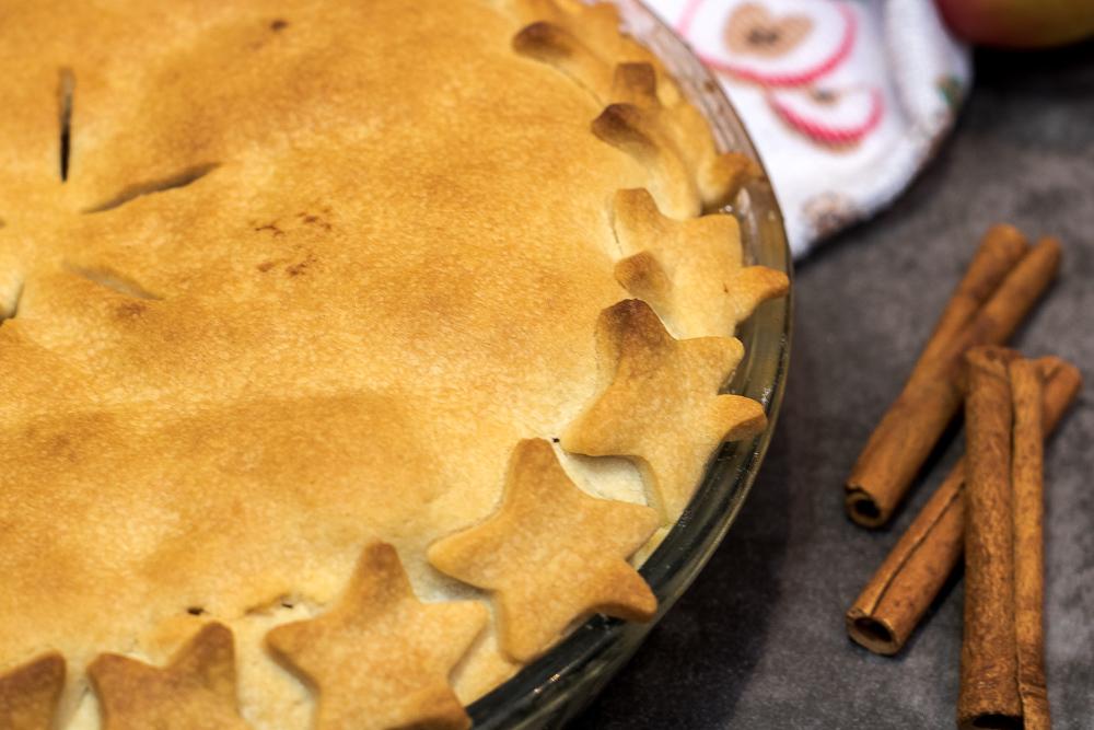amerykańska szarlotka apple pie